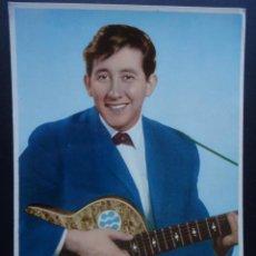 Fotos de Cantantes: LUIS AGUILE, POSTAL SIN CIRCULAR DEL AÑO 1964,. Lote 218277825