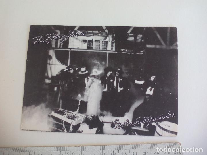 POSTAL EXILE ON MAIN STREET. ST. SCENE 1 . ROLLING STONES RECORDS. SIN CIRCULAR. POST CARD (Música - Fotos y Postales de Cantantes)