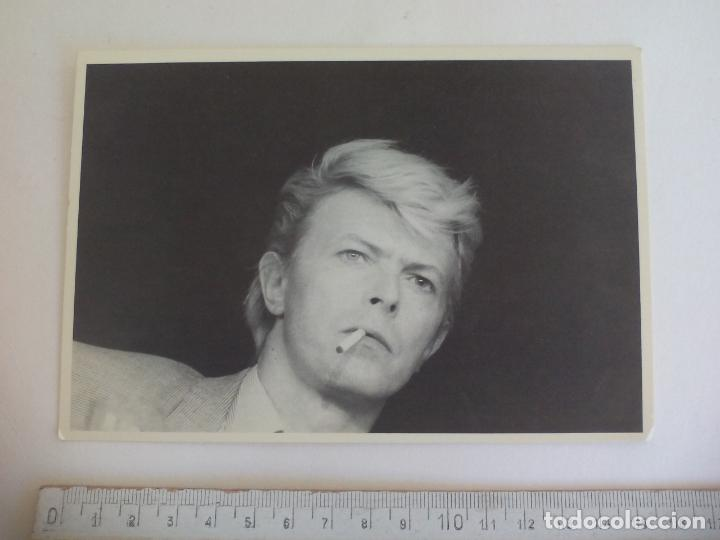 POSTAL DAVID BOWIE. STATICS. PHOTO BY URLI/GARCIA. PC 9. SIN CIRCULAR. POST CARD (Música - Fotos y Postales de Cantantes)