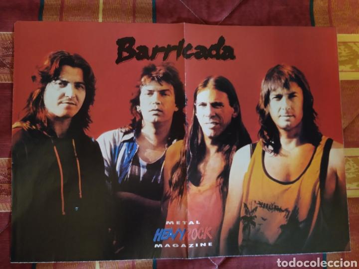 POSTER BARRICADA (Música - Fotos y Postales de Cantantes)