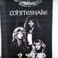 Fotos de Cantantes: WHITESNAKE, PÓSTER DE TELA 1988. Lote 218940965