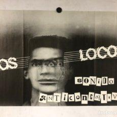 """Fotos de Cantantes: LOS LOCOS """"SONIDO ANTICONCEQTIVO"""". CARTEL PROMOCIONAL BANDA PUNK ASTURIANA (AÑOS 80).. Lote 219117482"""