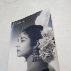 Fotos de Cantantes: FOTOGRAFÍA ORIGINAL DE LOLA FLORES ( SELLADA ROMÁN ). Lote 219133768