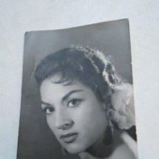 Fotos de Cantantes: FOTOGRAFÍA ORIGINAL DE LOLA FLORES SELLADA POR DETRÁS. Lote 219134031
