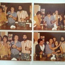 Fotos de Cantantes: LOTE DE 4 CANTANTE JUAN BAU CON PABLO AMOR, ETC AÑOS 70. Lote 219542266