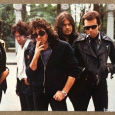 """Fotos de Cantantes: BURNING. FOTOGRAFÍA PROMOCIONAL DISCOS BELTER DEL ÁLBUM """"MADRID"""" (1978).. Lote 219905715"""