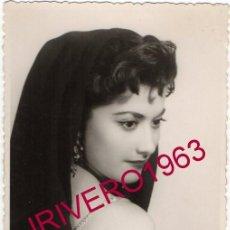 Fotos de Cantantes: FOTOGRAFIA ORIGINAL DE CONCHITA BAUTISTA, 86X136MM. Lote 220724033
