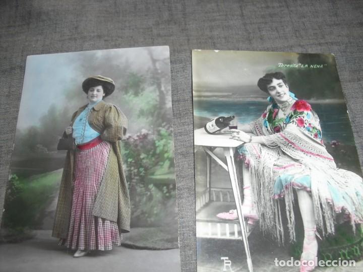 Fotos de Cantantes: lote postales artistas o cantantes actrices Teresita la nena Sanchez Jiménez Guadalupe Molina - Foto 2 - 222122935