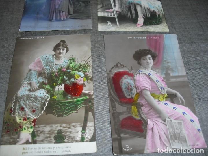 Fotos de Cantantes: lote postales artistas o cantantes actrices Teresita la nena Sanchez Jiménez Guadalupe Molina - Foto 3 - 222122935