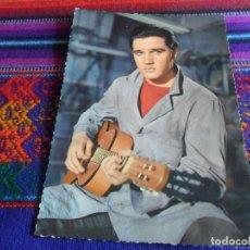 Fotos de Cantantes: POSTAL SIN USO ELVIS PRESLEY. EDITA KRUGER. PHOTO UFA. MUY RARA.. Lote 222305652