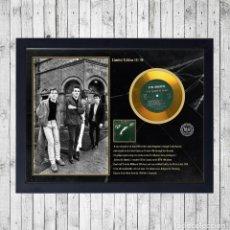 Fotos de Cantantes: THE SMITHS QUEEN IS DEAD CUADRO CON GOLD O PLATINUM CD EDICION LIMITADA. FRAMED. Lote 222465423