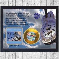 Fotos de Cantantes: DIRE STRAITS BROTHERS IN CUADRO CON GOLD O PLATINUM CD EDICION LIMITADA. FRAMED. Lote 222525102
