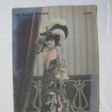 Photos de Chanteurs et Chanteuses: LA GATITA BLANCA-ADELA TABERNER-POSTAL FOTOGRAFICA ANTIGUA-REVERSO SIN DIVIDIR-VER FOTOS-(75.443). Lote 223277255
