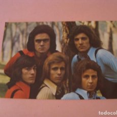 Fotos de Cantantes: POSTAL DE GRUPO ESPAÑOL MEZCLA. DETRÁS DEDICATORIA Y 3 FIRMAS. 1973.. Lote 223728647