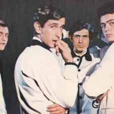Photos de Chanteurs et Chanteuses: POSTAL DEL GRUPO MUSICAL LOS BRINCOS FOTO PEREZ DE LEON. ED. ESTE Nº 18. AÑO 1966. Lote 224652873
