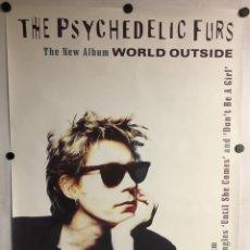 "Fotos de Cantantes: THE PSYCHEDELIC FURS ""WORLD OUTSIDE"" (1991). CARTEL PROMOCIONAL DEL ÁLBUM.. Lote 225200695"