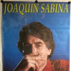 Fotos de Cantantes: JOAQUÍN SABINA. CARTEL ORIGINAL PROMOCIONAL DE BMG. FOTO: PABLO PEREZ MINGUEZ (1992).. Lote 225214760