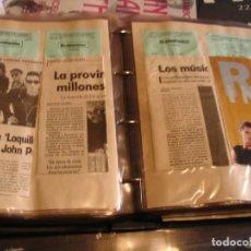 Photos de Chanteurs et Chanteuses: LOQUILLO Y LOS TROGLODITAS LOTE 263 RECORTES DE PRENSA EN ÁLBUM 1994. Lote 226274736