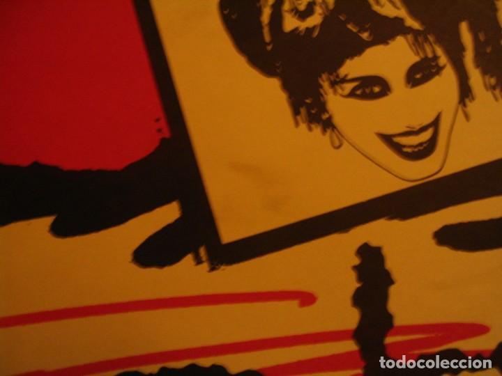 Fotos de Cantantes: NINA HAGEN & LENE LOVICH CARTEL ORIGINAL BILBAO GIRA 1986 TOUR 62X87 - Foto 4 - 227562025