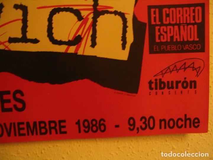 Fotos de Cantantes: NINA HAGEN & LENE LOVICH CARTEL ORIGINAL BILBAO GIRA 1986 TOUR 62X87 - Foto 5 - 227562025