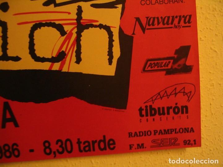 Fotos de Cantantes: NINA HAGEN & LENE LOVICH CARTEL ORIGINAL PAMPLONA GIRA 1986 TOUR 62X87 - Foto 6 - 227562486