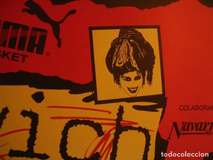 Fotos de Cantantes: NINA HAGEN & LENE LOVICH CARTEL ORIGINAL PAMPLONA GIRA 1986 TOUR 62X87 - Foto 7 - 227562486