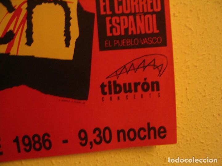 Fotos de Cantantes: NINA HAGEN & LENE LOVICH CARTEL ORIGINAL BILBAO GIRA 1986 TOUR 62X87 - Foto 5 - 227562550