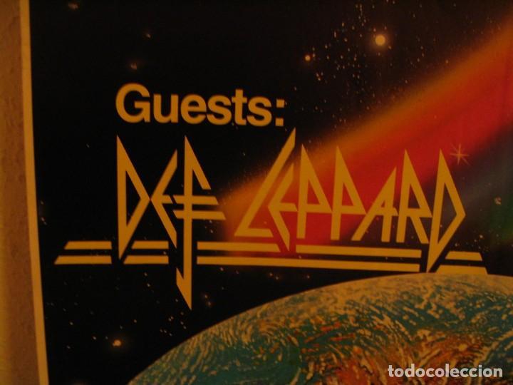 Fotos de Cantantes: RAINBOW DEF LEPPARD CARTEL ORIGINAL ALEMANIA GIRA 1981 TOUR 84X66 - Foto 4 - 227570470
