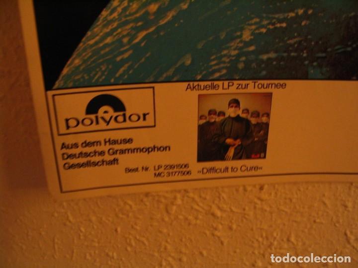 Fotos de Cantantes: RAINBOW DEF LEPPARD CARTEL ORIGINAL ALEMANIA GIRA 1981 TOUR 84X66 - Foto 7 - 227570470