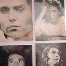 Fotos de Cantantes: 4 FOTOS DE RAPHAEL. Lote 235186440