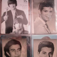 Fotos de Cantantes: 4 POSTALES THE BEATLES / CLIFF RICHARD / JULIAN MATEOS / FRANKIE AVALON /. Lote 235489520