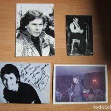 Fotos de Cantantes: 4 FOTOS DE RAPHAEL VER CLUB BARCELONA Y MADRID. Lote 235518745