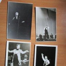 Fotos de Cantantes: 4 FOTOS DE RAPHAEL EN LENINGRADO RUSIA 74' - 78 '. Lote 235519065