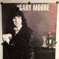 "Fotos de Cantantes: GARY MOORE ""AFTER HOURS"" (1992). HISTÓRICO CARTEL PROMOCIONAL DEL ÁLBUM.. Lote 235546030"
