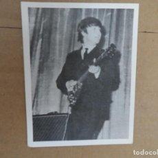 Fotos de Cantantes: THE BEATLES CROMO Nº 74 EDITORIAL BRUGUERA 1966 ORIGINAL NUEVO. Lote 236456795
