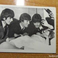 Fotos de Cantantes: THE BEATLES CROMO Nº 93 EDITORIAL BRUGUERA 1966 ORIGINAL NUEVO. Lote 236457605