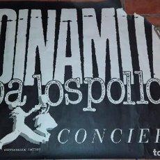 Fotos de Cantantes: POSTER DINAMITA PA LOS POLLOS AÑOS 80 90 POP MOVIDA. Lote 236990720