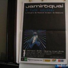 Foto di Cantanti: JAMIROQUAI CARTEL ORIGINAL BADALONA 2001 A FUNK ODISSEY GIRA TOUR 140X100. Lote 237104860