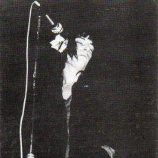 Fotos de Cantantes: POSTAL DE PATTI SMITH / 20/X/76 - JUVENTUD BADALONA - FLOWERS 84. Lote 237165255