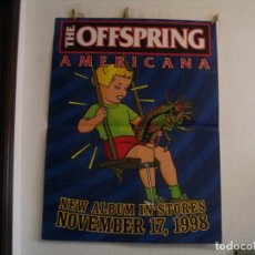 Fotos de Cantantes: THE OFFSPRING POSTER CARTEL ORIGINAL NEW ALBUM AMERICANA 1998 122X92. Lote 237331160