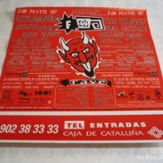 Fotos de Cantantes: FESTIMAD EXTREMODURO THE PRODIGY FEAR FACTORY REDD KROSS CARTEL ORIGINAL 1997 GIRA TOUR 47X43. Lote 239613290