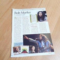 Fotos de Cantantes: BOB MARLEY -- EL REY DEL REGGAE -- VIDAS INTERESANTES -- REVISTA PRONTO. Lote 240687670