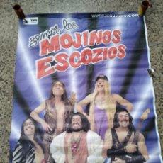 Fotos de Cantantes: CARTEL MOJINOS ESCOZIOS. Lote 240835230