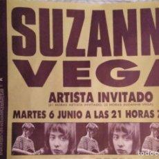 Fotos de Cantantes: MÍTICOS DE LOS 80'S. CARTEL CONCIERTO SUZANNE VEGA BARCELONA 1989. Lote 241810990