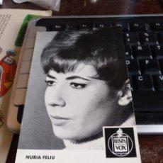 Fotos de Cantantes: NURIA FELIU. Lote 244181985