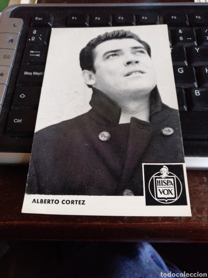 ALBERTO CORTEZ (Música - Fotos y Postales de Cantantes)