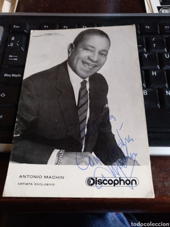 ANTONIO MACHÍN (Música - Fotos y Postales de Cantantes)