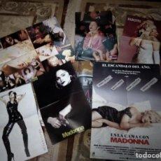 Fotos de Cantantes: MADONNA LOTE RECORTES PRENSA. Lote 244597490