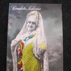 Fotos de Cantantes: CONCHITA LEDESMA-POSTAL ANTIGUA-VER FOTOS-(77.846). Lote 245103945