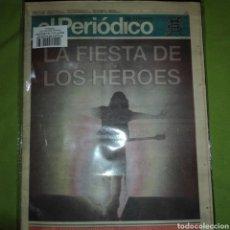 Fotos de Cantantes: HEROES DEL SILENCIO PERIÓDICO LA FIESTA DE LOS HÉROES. Lote 246543610